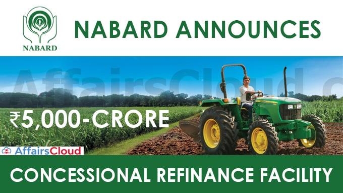 Nabard-announces-₹5,000-crore-concessional-refinance-facility
