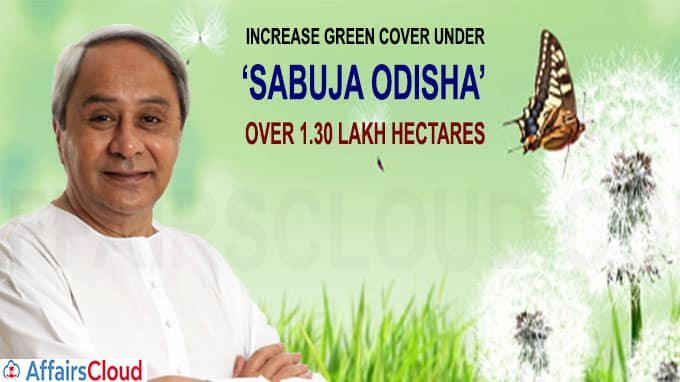 Naveen Patnaik plans to increase green cover