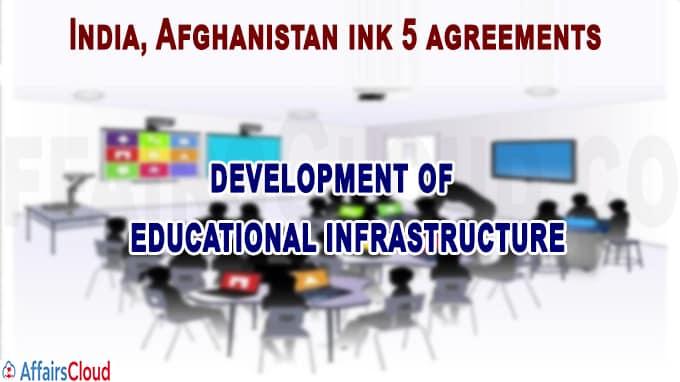 New Delhi, Kabul inks 5 MoUs