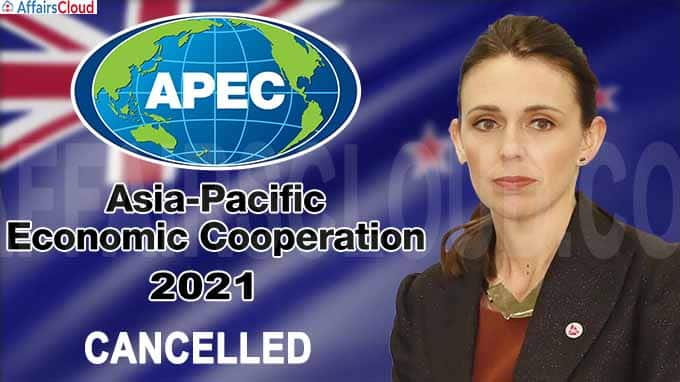 New Zealand cancels 2021 APEC summit