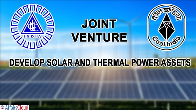 Nlc,Coal india develop solar and thermal power assets
