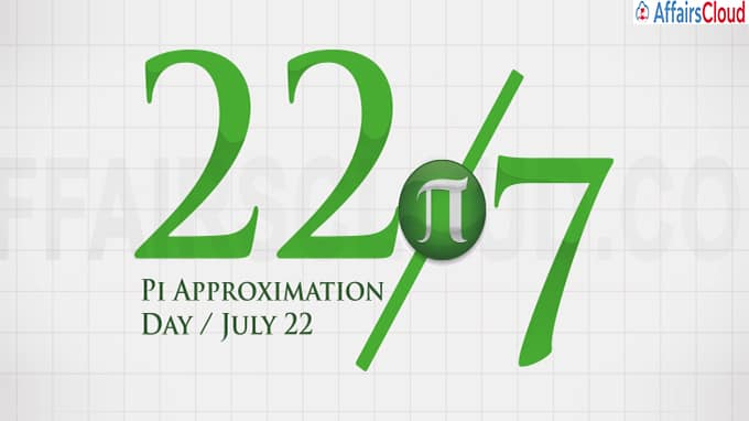 Pi approximation day July 22