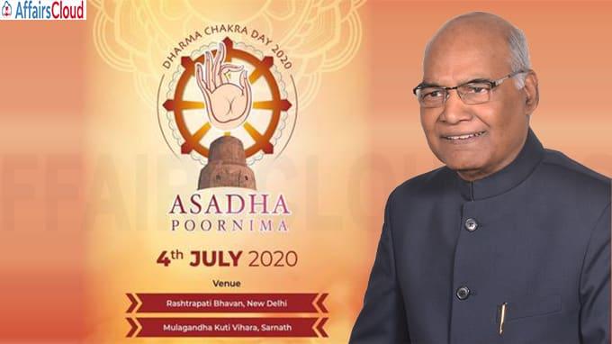 President Ram Nath Kovind inaugurates Dharma Chakra Day