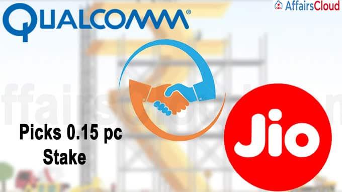 Qualcomm picks stake in Jio