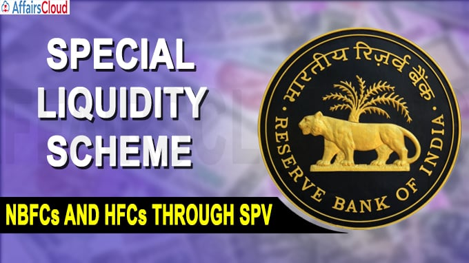 RBI NBFCs and HFCs through SPV