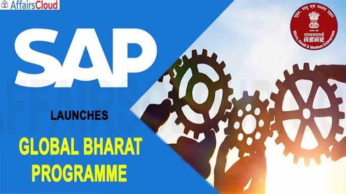 SAP Launches Global Bharat Programme