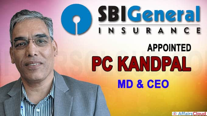 SBI General Insurance appoints PC Kandpal as MD, CEO