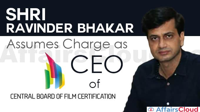 Shri-Ravinder-Bhakar-assumes-charge-as-CEO,-CBFC