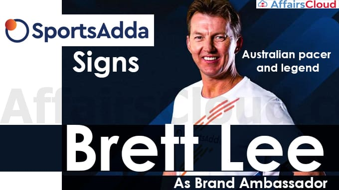 SportsAdda-signs-former-Australian-pacer-and-legend-Brett-Lee-as-brand-ambassador