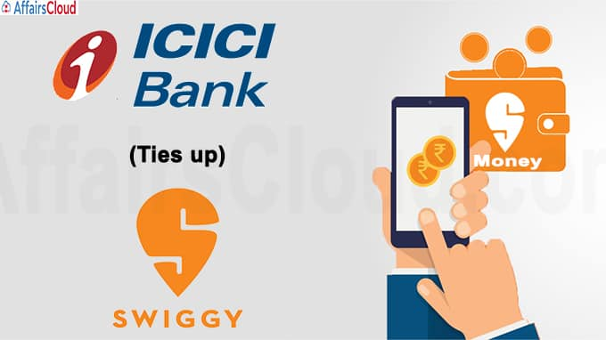Swiggy ties up with ICICI Bank