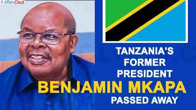 Tanzania's former President Benjamin Mkapa dies