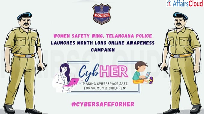 Telangana Police launch CybHER campaign