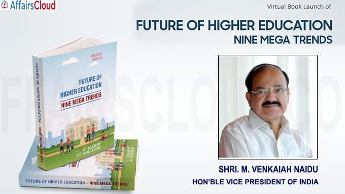The Vice President of India Releases The Future of Higher Education