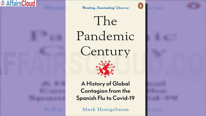 Titled The Pandemic Century the book by British medical historian Mark Honigsbaum