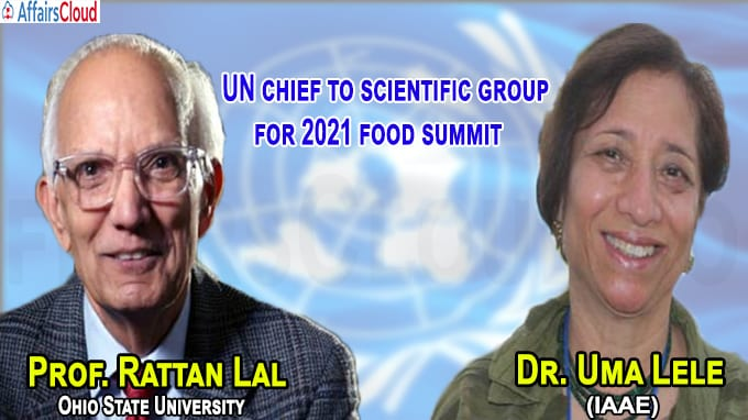 UN chief to scientific group for 2021 food summit