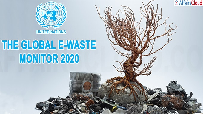 UN report Global E-waste Monitor 2020