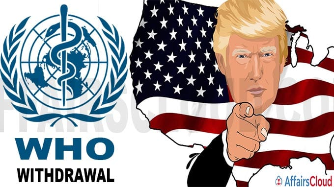 US formally notifies UN of decision to withdraw from WHO