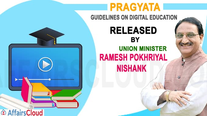 Union HRD Minister virtually releases PRAGYATA
