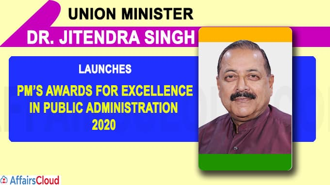 Union Minister Dr Jitendra Singh launches the revamped Scheme