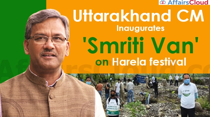 Uttarakhand-CM-inaugurates-'Smriti-Van'-on-Harela-festival,-urges-people-to-plant-saplings