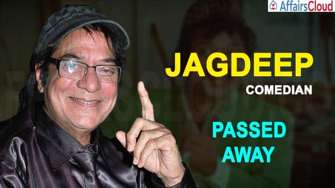 Veteran Actor Jagdeep passes away
