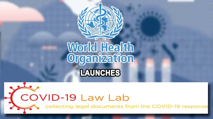 COVID-19 Law Lab' Initiative launched to provide legal information ...