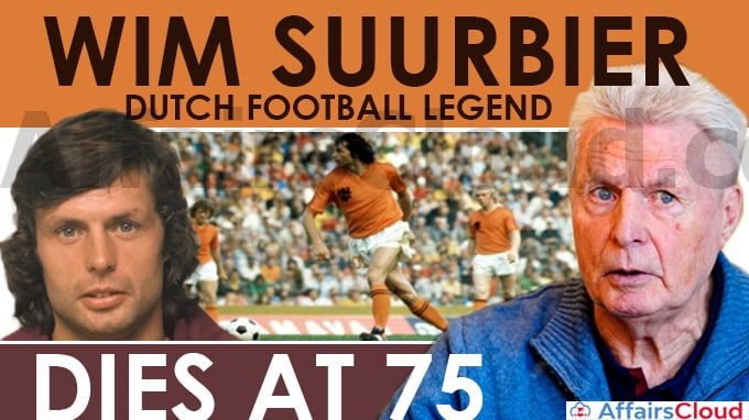 Wim-Suurbier,-Dutch-Football-Legend,-Dies-At-75