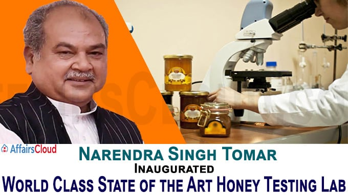 World Class State of the Art Honey Testing Lab