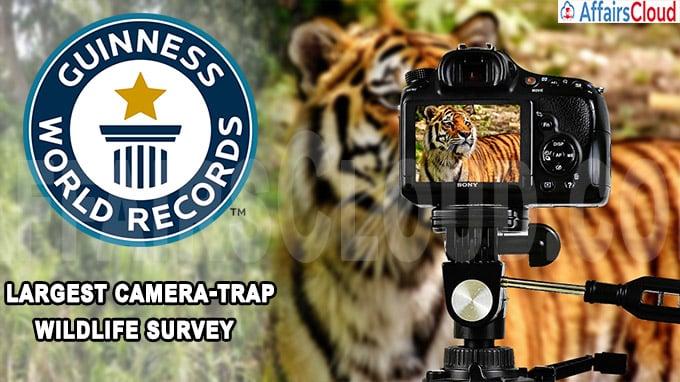 largest camera-trap wildlife survey