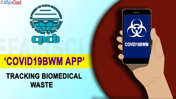 'COVID19BWM APP' for tracking biomedical waste daily