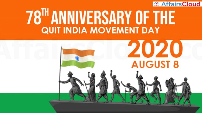 78th-anniversary-of-the-Quit-India-Movement-day-2020-August-8