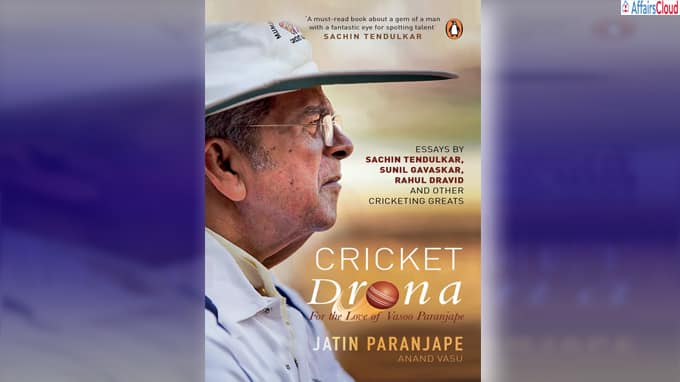 A book titled Cricket Drona by Jatin Paranjape & Anand Vasu to be released