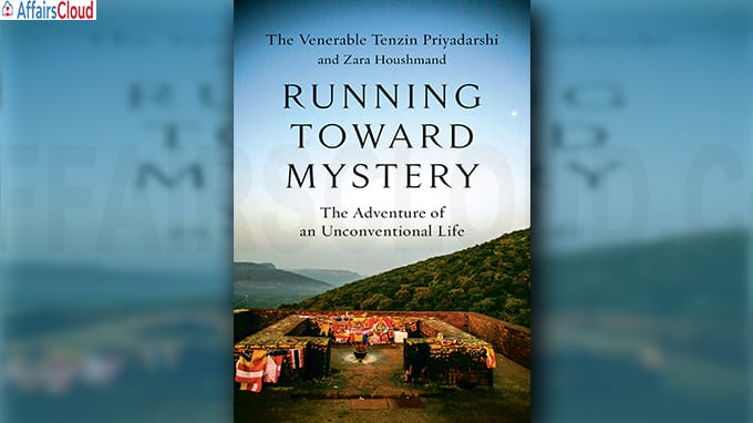 A book titled Running Toward Mystery