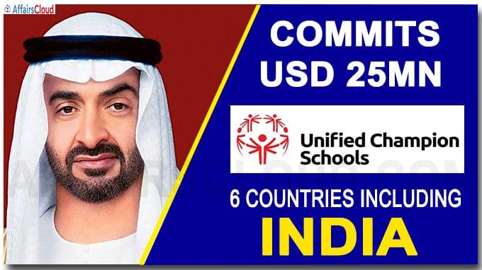 Abu Dhabi's crown prince commits USD 25mn