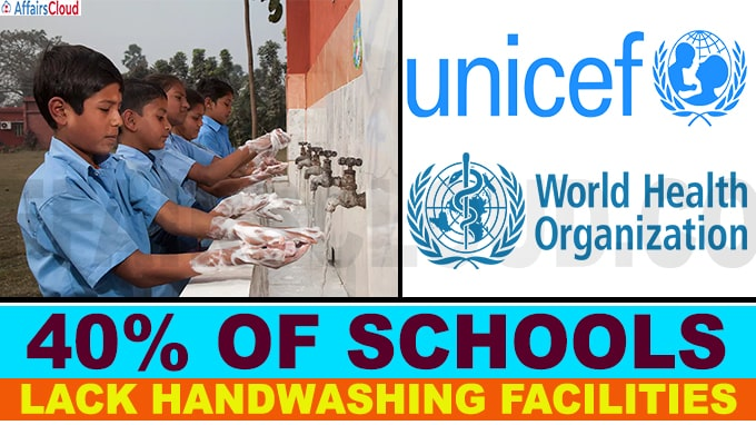 Around 818 mln children lack basic hand-washing facilities