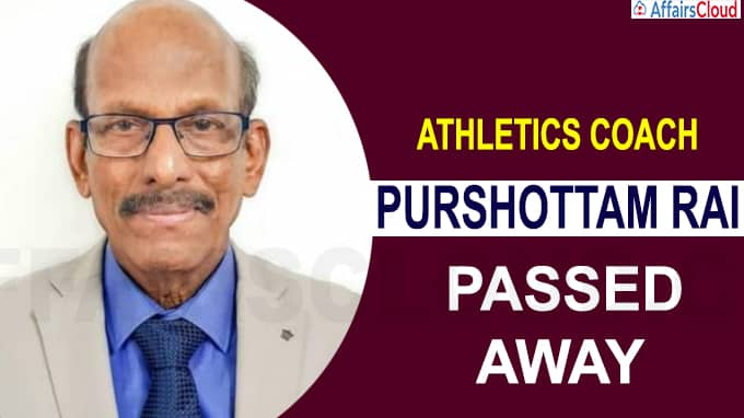 Athletics coach Purshottam Rai dies at 79