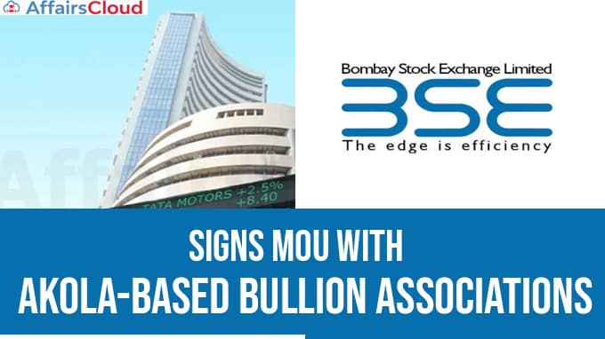 BSE-signs-MoU-with-Akola-based-bullion-associations