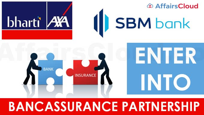Bharti-AXA-Life,-SBM-Bank-India-enter-into-bancassurance-partnership