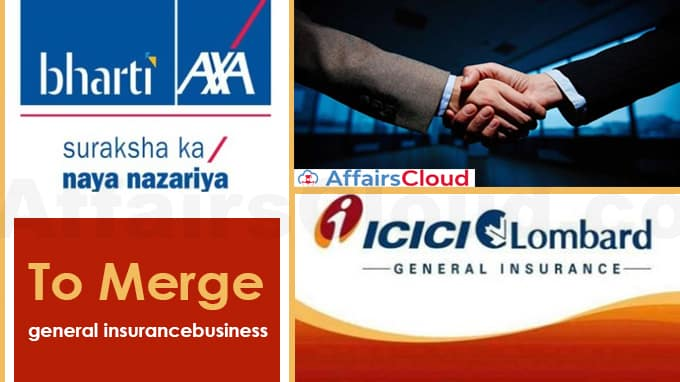 Bharti-Axa's-general-insurance-business-to-merge-with-ICICI-Lombard
