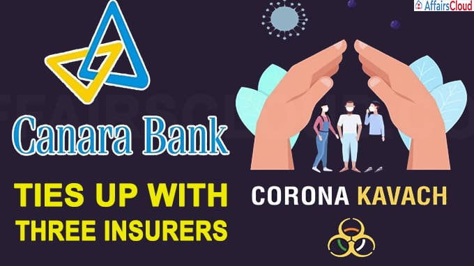 Canara Bank ties up with three insurers