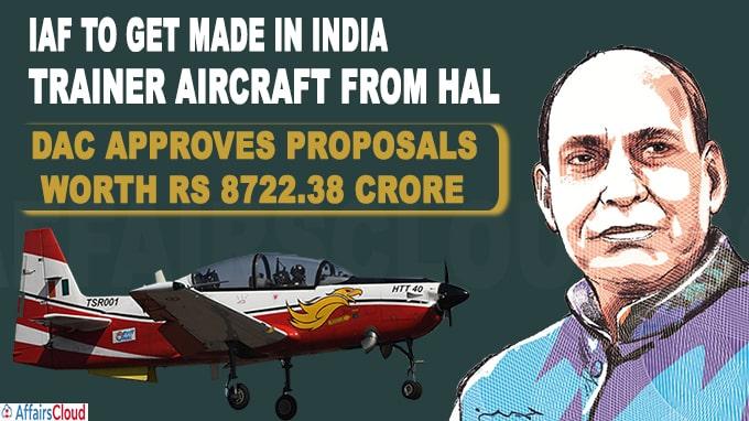 DAC approves procurement proposals worth Rs 8,722