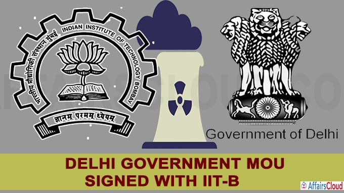 Delhi government MoU signed with IIT-B