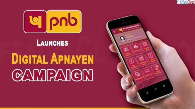 Digital Apnayen PNB launches campaign