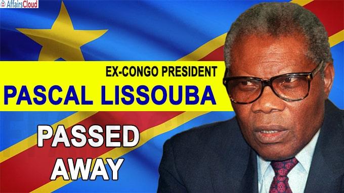 Ex-Congo President, Pascal Lissouba passes away