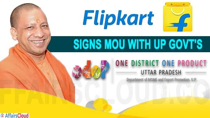 Flipkart signs MoU with UP govt's