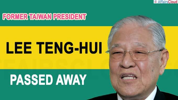Former Taiwan president Lee Teng-hui dies aged 97