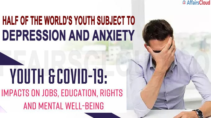 Half of the world's youth subject to depression and anxiety