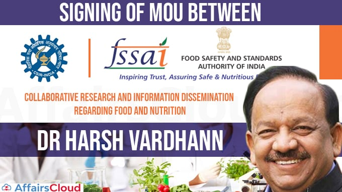 Harsh-Vardhan-presides-over-signing-of-MoU-between-CSIR-and-FSSAI