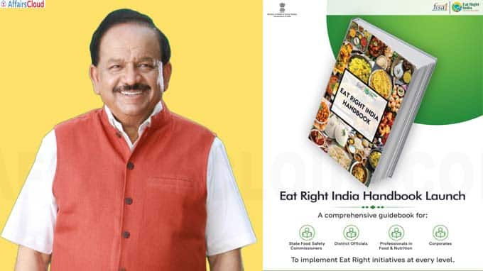 Health Minister Dr Harsh Vardhan launches FSSAI's 'Eat Right India'