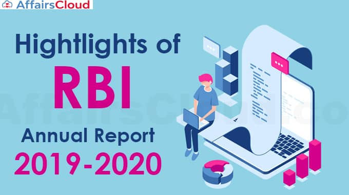 Hightlights-of-RBI-Annual-Report-2019-20